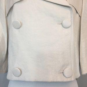 Full Circle Jackets   Coats - Full Circle champagne cropped jacket size 12  NWT 8506e1d48